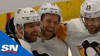 Bryan Rust Nets Penguins 5th Hat Trick of Season