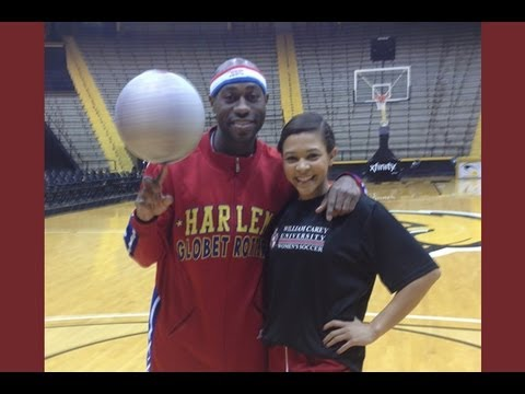 Firefly met up with the newly famous cheerleader, Ashley Arnau, on the court at Reed Green Coliseum. For all those who thought it was a fluke, Ashely, in Fir...