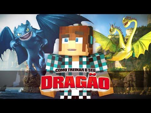 Minecraft Mod: Como Treinar Seu Dragão Mod No Minecraft !! ( Banguela,Terror Terrivel)