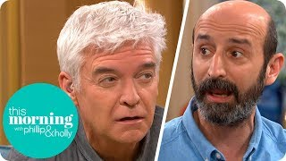 Phillip Is Absolutely Baffled by the Men Who Believe the Earth Is Flat | This Morning