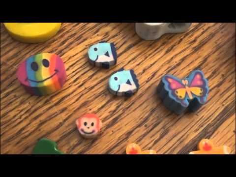 Shaped Eraser Collection.