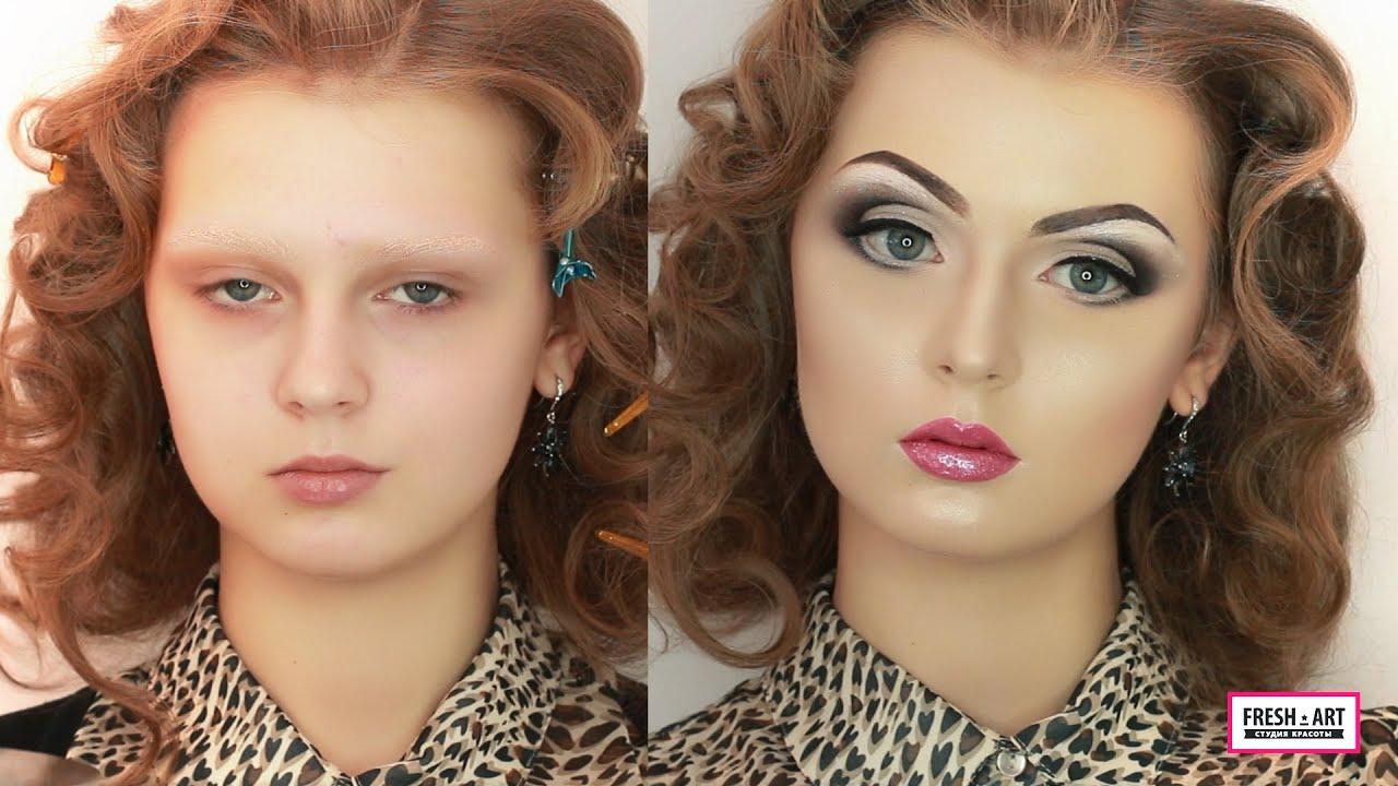 Как сделать макияж как у куклы девочки