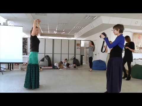 Мастер класс испанский танец видео