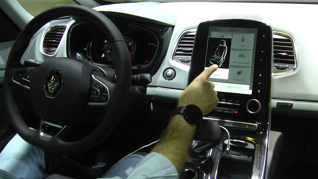 Renault espace infotainment preview salone i parigi 2014 for 500x hdmotori