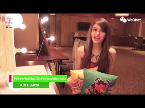 Femina Miss India - Vote For Aditi Arya