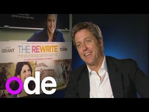Hugh Grant interview: Actor on playing golf in his underpants and new film The Rewrite