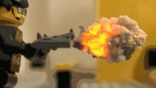 Lego James Bond Shootout Parody