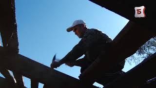 Капитальный ремонт домов в действии.