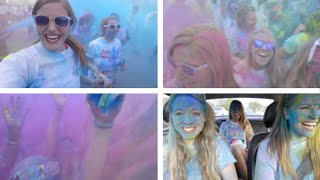 Running my first 5K!   Color Vibe 2015