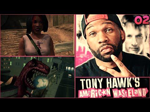 Tony Hawk American Wasteland Walkthrough Part 2 - It's Tricky! video