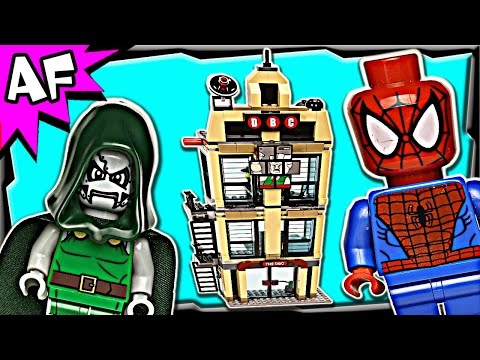 Spiderman DAILY BUGLE Showdown 76005 Lego Marvel Super Heroes Stop Motion Review