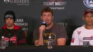 UFC Fight Night Foxwoods: Jacare vs Mousasi Post-Fight Press Conference