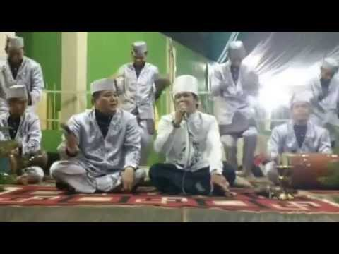 Da'i Aksi Indosiar Zaky mubarok perform with marawis al-jadid