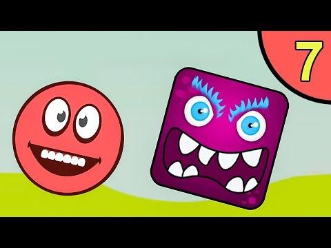 Несносный красный шар. Покатушки #7. Мультик ИГРА Red Ball 5 World на Игрули TV