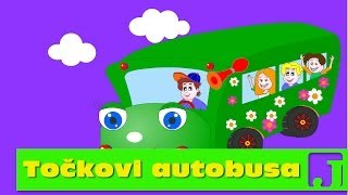 Točkovi autobusa | Wheels On The Bus | Dečije pesme
