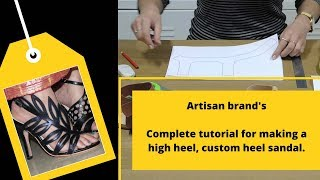 How to make high heels, custom heels complete tutorial .