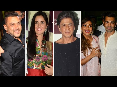 Baba Siddique's Iftaar party 2016 | Salman Khan, Shahrukh Khan, Katrina Kaif | Full Video