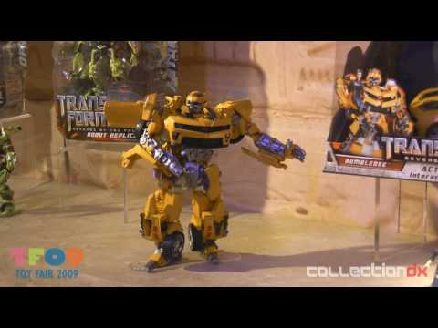 Toy Fair 2009 Hasbro Transformers Revenge of the Fallen HD