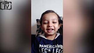 Indian Baby making animal voices & telling body parts|Learn body parts video for toddlers|DhanishTv