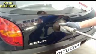 اصلاح صدمات السيارات   بدون سمكره   HD