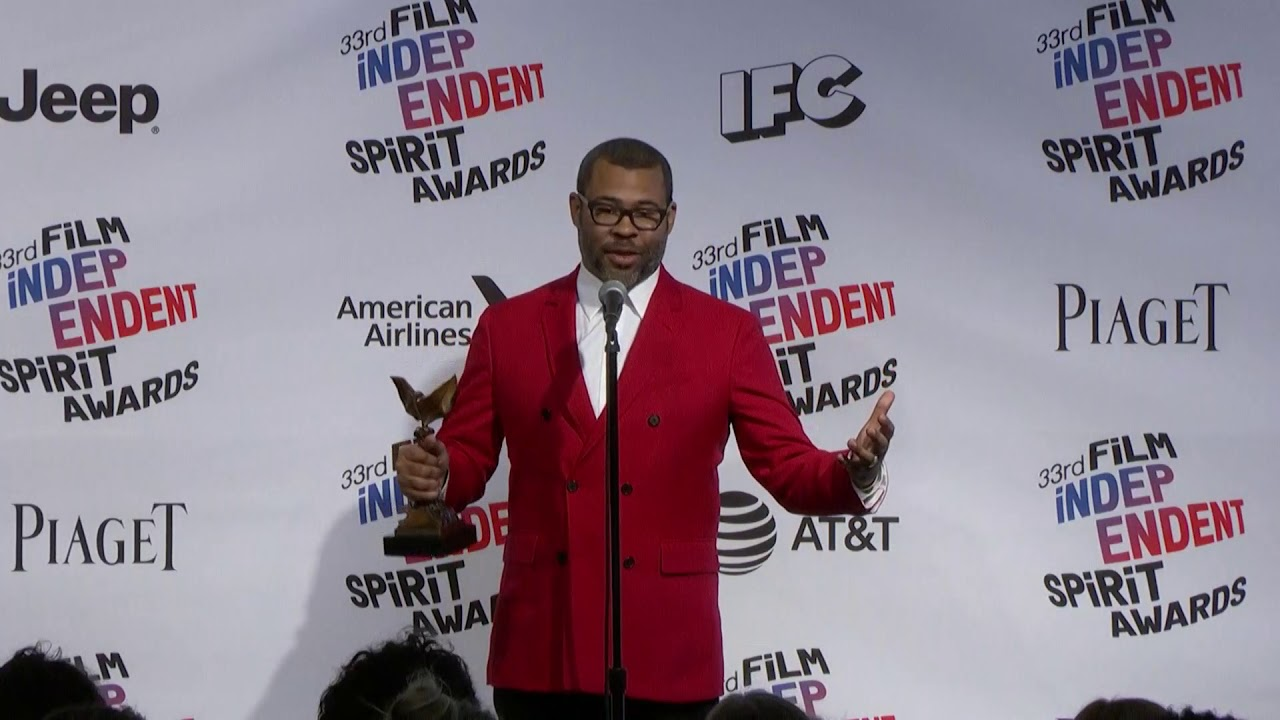 Jordan Peele - Best Director - Indie Spirit Awards - Full Backstage Interview