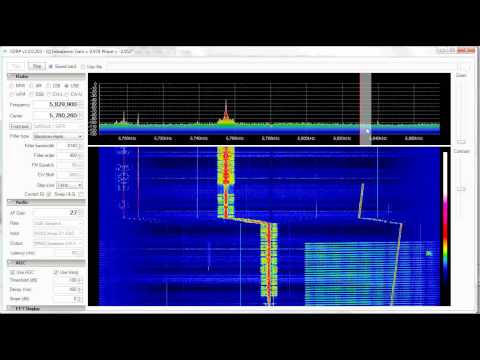 Shortwave Radio - HAARP 5730Khz to 5900Khz Sweep