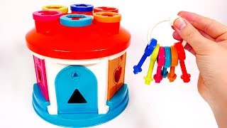 Learn Colors with Shapes and Garage Playset for Children | Learn with Yippee Toys