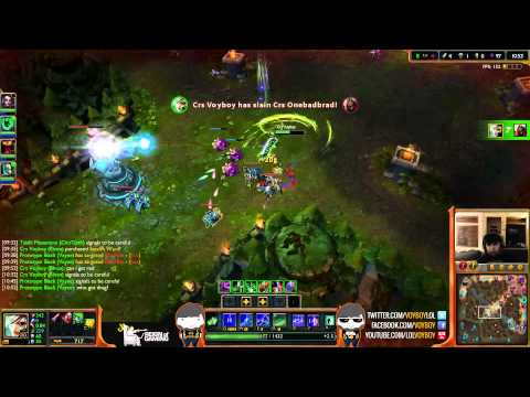 Crs Voyboy Riven vs Zed mid (Diamond I) [LOL]