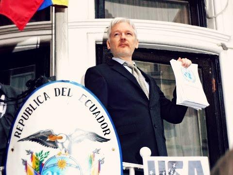 Julian Assange speech on the UN Ruling