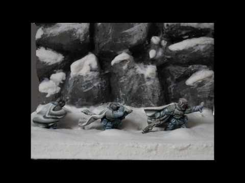 Imperial Guard Winter Troops Showcase