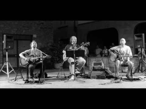 Riders In the Sky-Sultan Of Swing  --  Bermuda Acoustic Trio (Dire Straits Cover)