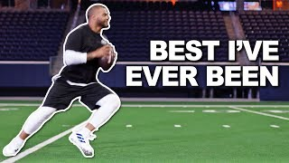 "Dak Prescott on Training & Motivation, ""Best I've ever been"""