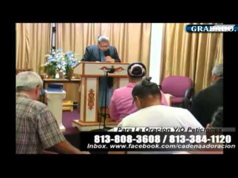 Culto Evangelistico, Concilio Pentecostal Senda Antigua AMIP Tampa Bay. 12-27-2015