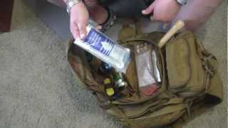 Part 2 Emergency Get Home Bag BOB SHTF Bag & Contents