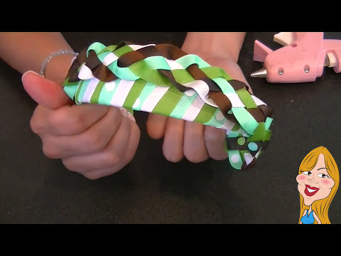 Como hacer un Cintillo Trenzado - How to make a headband | Creations Nani
