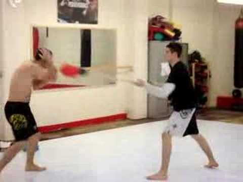 The Big Red Head MMA Work Out Drill Image 1