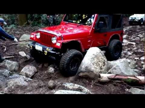 JEEP 4x4 TJ WranglerJEEP TRAIL (Red)