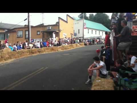 Cathlamet downhill corral warm ups