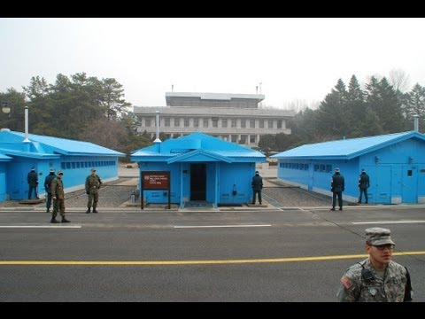 The Surreal and Very Real DMZ-Walking Into North Korea (With DMZ Facts/Figures)