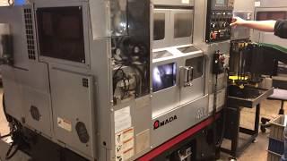 Amada Wasino Twin Spindle Autoload AA-1 CNC Lathe