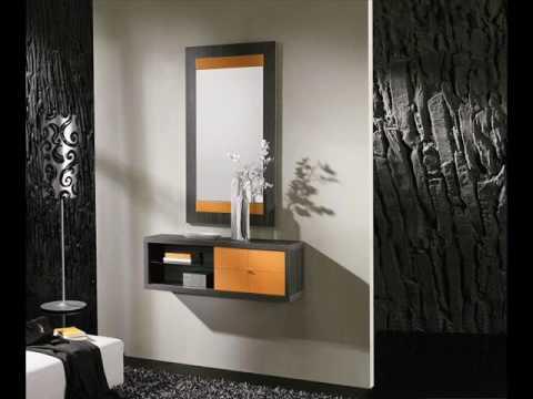 Muebles salvany cien recibidores modernos youtube - Sillones para recibidores ...