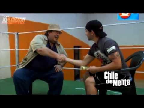 """XNL - Programa """"Chile de Mente"""" Canal 13 Cable (Andy Sykes, Luchador de Xplosion Nacional de Lucha)"""