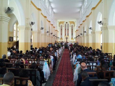 La paroisse Sainte Anne de Kinshasa fête ses 100 ans d'existance.