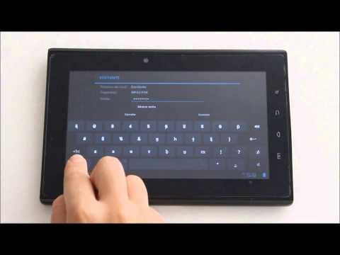Como conectar seu Tablet NavCity a uma rede de internet Wi-Fi