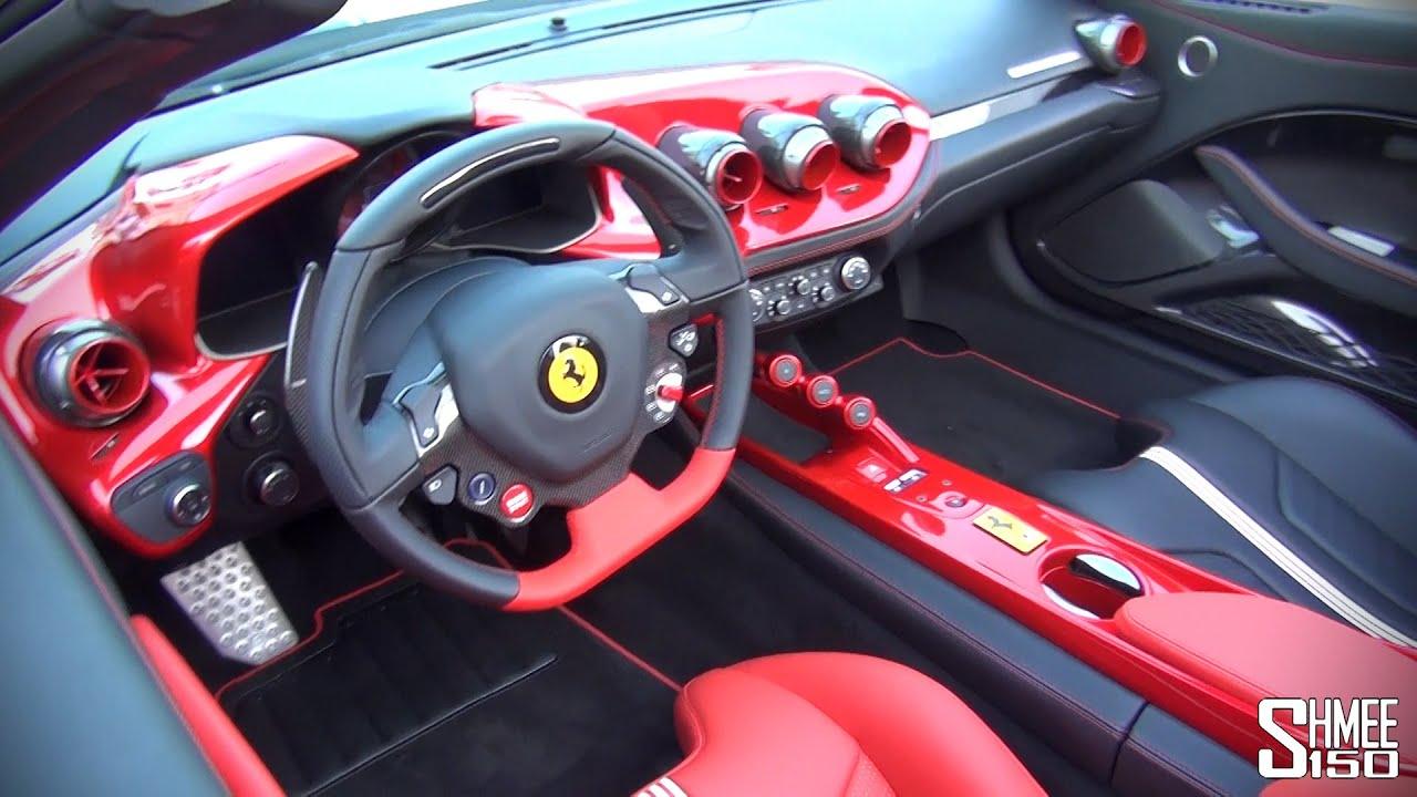 Ferrari F60 America Interior Dual Zone Overview Youtube