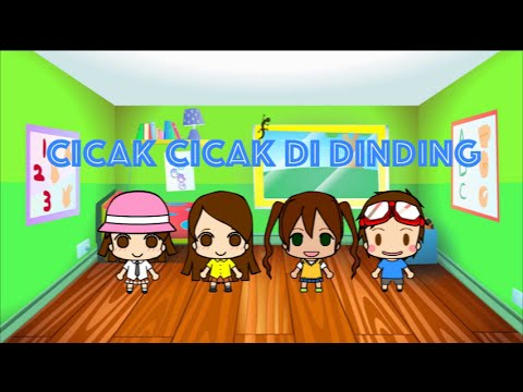 Cicak Cicak Di Dinding - Lagu Anak-anak Indonesia Karaoke video