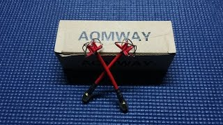 UnBoxing - AOMWAY L-RP SMA  5.8ghz FPV Antenna RX/TX best value?