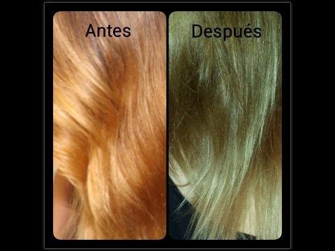 Como aplicarnos un matiz en el cabello