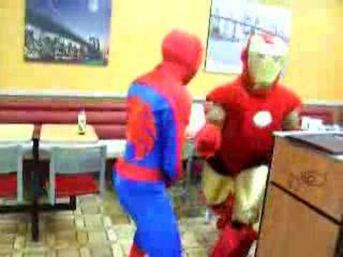 Ironman vs Spiderman