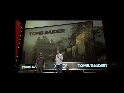 Microsft E3 2012 Press Conference -Tomb Raider Gameplay Demo - Microsft E3 2012 Press Conference